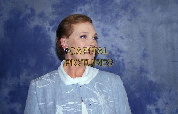 JULIE ANDREWS.headshot, portrait.www.capitalpictures.com.sales@capitalpictures.com.© Capital Pictures.