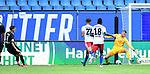 1:4 Tor, v.l. Torschuetze Mario Engels (Sandhausen), Josha Vagnoman, Bakery Jatta, Torwart Julian Pollersbeck (HSV)<br />Hamburg, 28.06.2020, Fussball 2. Bundesliga, Hamburger SV - SV Sandhausen<br />Foto: Tim Groothuis/Witters/Pool//via nordphoto<br /> DFL REGULATIONS PROHIBIT ANY USE OF PHOTOGRAPHS AS IMAGE SEQUENCES AND OR QUASI VIDEO<br />EDITORIAL USE ONLY<br />NATIONAL AND INTERNATIONAL NEWS AGENCIES OUT