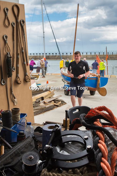 Blyth Tall Ship Project, Blyth, Northumberland, UK, June 2017
