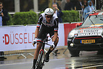 Ramon Sinkeldam (NED) Team Sunweb in action during Stage 1, a 14km individual time trial around Dusseldorf, of the 104th edition of the Tour de France 2017, Dusseldorf, Germany. 1st July 2017.<br /> Picture: Eoin Clarke | Cyclefile<br /> <br /> <br /> All photos usage must carry mandatory copyright credit (&copy; Cyclefile | Eoin Clarke)