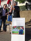 Als einzige Kandidatin der demokratischen Opposition wurde Tazjana Karatkewitsch zu den Präsidentschaftswahlen in Belarus zugelassen. / Tazjana Karatkewitsch, oposition candidate