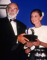 Sean Connery Audrey Hepburn 1992<br /> Michael Ferguson/PHOTOlink.net
