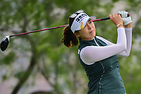 Mi Jung Hur (KOR) watches her tee shot on 3 during round 3 of  the Volunteers of America Texas Shootout Presented by JTBC, at the Las Colinas Country Club in Irving, Texas, USA. 4/29/2017.<br /> Picture: Golffile | Ken Murray<br /> <br /> <br /> All photo usage must carry mandatory copyright credit (&copy; Golffile | Ken Murray)