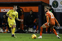 Fleetwood Town's Ross Wallace competing with Luton Town's Andrew&nbsp;Shinnie<br /> <br /> Photographer Andrew Kearns/CameraSport<br /> <br /> The EFL Sky Bet League One - Luton Town v Fleetwood Town - Saturday 8th December 2018 - Kenilworth Road - Luton<br /> <br /> World Copyright &copy; 2018 CameraSport. All rights reserved. 43 Linden Ave. Countesthorpe. Leicester. England. LE8 5PG - Tel: +44 (0) 116 277 4147 - admin@camerasport.com - www.camerasport.com