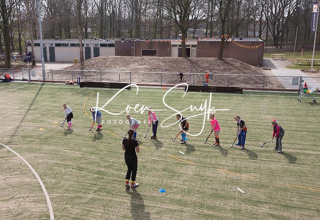 BUNNIK - HOCKEY - Hockeyclub Kromme Rijn, een jonge club.  COPYRIGHT KOEN SUYK