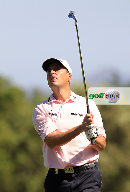 David Howell (ENG) on the 17th fairway during Round 4 of the Open de Espana  in Club de Golf el Prat, Barcelona on Sunday 17th May 2015.<br /> Picture:  Thos Caffrey / www.golffile.ie