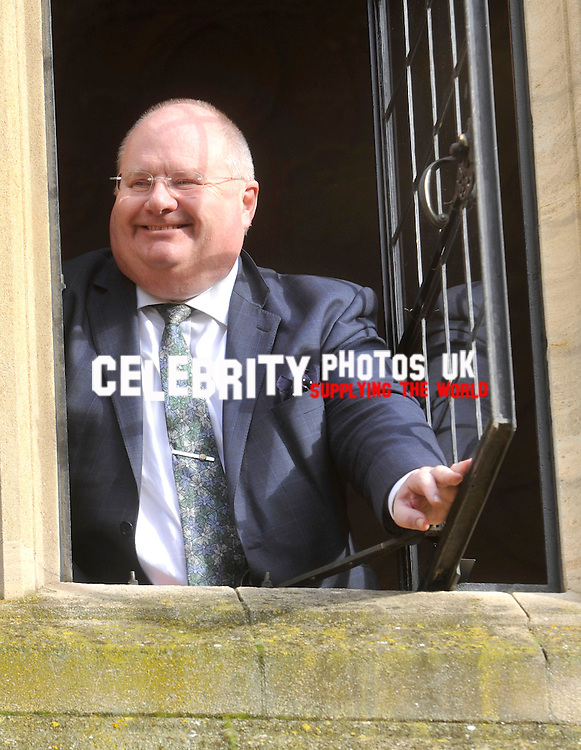 Eric Pickles speaking at the Oxford Union  on the 12 November 2013, Photo by  Brian Jordan
