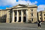 Trinity College university chapel, city of Dublin, Ireland, Irish Republic