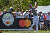 Rafael Cabrera Bello (ESP) watches his tee shot on 7 during round 2 of the Arnold Palmer Invitational at Bay Hill Golf Club, Bay Hill, Florida. 3/8/2019.<br /> Picture: Golffile | Ken Murray<br /> <br /> <br /> All photo usage must carry mandatory copyright credit (&copy; Golffile | Ken Murray)
