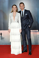 Brie Larson and Tom Hiddlestone<br /> arrives for the &quot;Kong: Skull Island&quot; premiere, Empire Leicester Square, London.<br /> <br /> <br /> &copy;Ash Knotek  D3235  28/02/2017