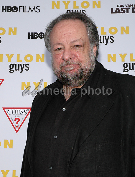 19 July 2005 - New York, New York - Actor Ricky Jay arrives at the premiere of his new film, &quot;Last Days&quot;, at The Sunshine Theater in Manhattan.<br />