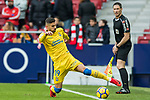 Hernan Dario Toledo of UD Las Palmas in action during the La Liga 2017-18 match between Atletico de Madrid and UD Las Palmas at Wanda Metropolitano on January 28 2018 in Madrid, Spain. Photo by Diego Souto / Power Sport Images