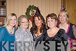 School staff from Coolcappa N.S enjoying a Christmas night out in The Devon Inn, Templeglantine last Friday night. L-r: Joanna McNamara, Nora Madden, Maura Crowley, Teresa Hayes and Joan Power.