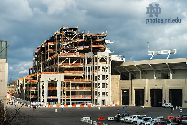 Nov. 13, 2015; Duncan Student Center construction (Photo by Matt Cashore/University of Notre Dame)