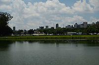 SÃO PAULO, SP, 03 DE FEVEREIRO DE 2012 - CALOR IBIRAPUERA  - Tarde ensolarada e quente no Parque do Ibirapuera. FOTO: ALEXANDRE MOREIRA - NEWS FREE.