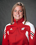 2010-11 UW Swimming and Diving Team - Beckie Thompson. (Photo by David Stluka)