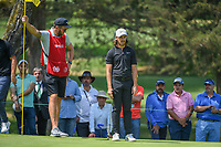 Tommy Fleetwood (ENG) lines up his putt on 13 during round 1 of the World Golf Championships, Mexico, Club De Golf Chapultepec, Mexico City, Mexico. 3/1/2018.<br /> Picture: Golffile | Ken Murray<br /> <br /> <br /> All photo usage must carry mandatory copyright credit (&copy; Golffile | Ken Murray)