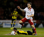 Billy Sharp of Sheffield Utd in action - English League One - Sheffield Utd vs Burton Albion - Bramall Lane Stadium - Sheffield - England - 1st March 2016 - Pic Simon Bellis/Sportimage