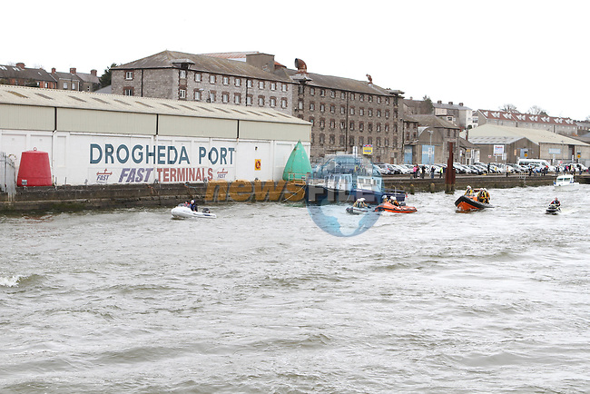 Powerboats Arrive in Drogheda...(Photo credit should read Jenny Matthews/NEWSFILE)...