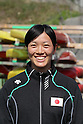 Asumi Omura, .MARCH 29, 2012 - Canoeing : 2012 International Canoeing Competitions Selection Trial & The 22th Fuchuko Canoe Regatta, Women's Kayak Single 200m at Lake Fuchu, Kagawa Japan. (Photo by Akihiro Sugimoto/AFLO SPORT)