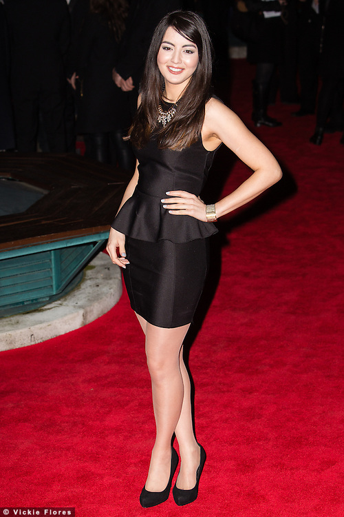 Jane Douglas arrives at the BAFTA Video Games Awards at Tobacco Dock in Wapping, East London on March 12th, 2014.