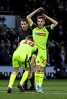 Bolton Wanderers' Ronan Darcy (right) rues a near miss from team mate Ethan Hamilton  <br /> <br /> Photographer Andrew Kearns/CameraSport<br /> <br /> The EFL Sky Bet League One - Rochdale v Bolton Wanderers - Saturday 11th January 2020 - Spotland Stadium - Rochdale<br /> <br /> World Copyright © 2020 CameraSport. All rights reserved. 43 Linden Ave. Countesthorpe. Leicester. England. LE8 5PG - Tel: +44 (0) 116 277 4147 - admin@camerasport.com - www.camerasport.com