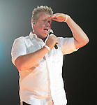 Gary LeVox (Gary Wayne Vernon) of the country music band Rascal Flatts performs at the Susquehanna Bank Center in Camden New Jersey July 9, 2011.Copyright EML/Rockinexposures.com..