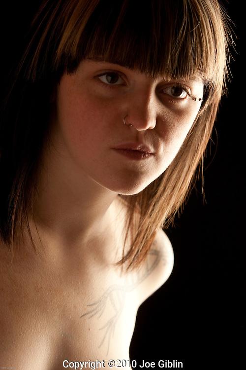 Chloe Hoover, Model portfolio shoot