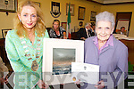 CIVIC AWARD: Receiving a special civic award on behalf of Tralee Town Council from Mayor Miriam McGillycuddy on Friday was Rose of Tralee founder member, Margaret Dwyer.   Copyright Kerry's Eye 2008