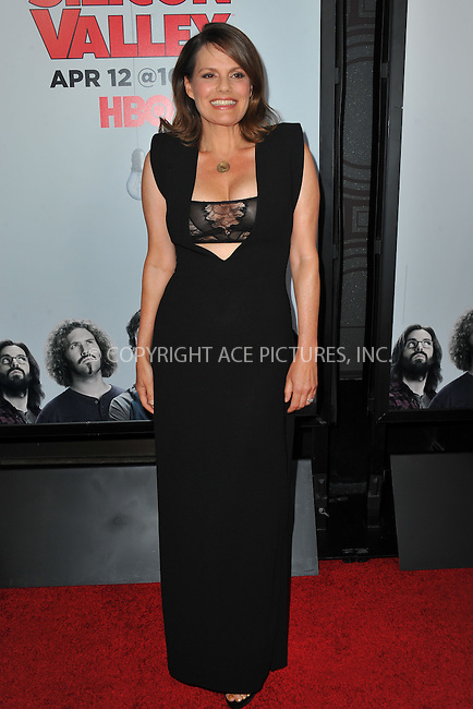 WWW.ACEPIXS.COM<br /> <br /> April 2 2015, LA<br /> <br /> Actress Suzanne Cryer arriving at the premiere of HBO's 'Silicon Valley' 2nd Season at the El Capitan Theatre on April 2, 2015 in Hollywood, California. <br /> <br /> <br /> By Line: Peter West/ACE Pictures<br /> <br /> <br /> ACE Pictures, Inc.<br /> tel: 646 769 0430<br /> Email: info@acepixs.com<br /> www.acepixs.com