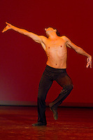 Ulvi Azizov performs his dance during the World Stars Ballet Gala held in the Budapest Opera House in Budapest, Hungary, Saturday, 25. September 2010. ATTILA VOLGYI