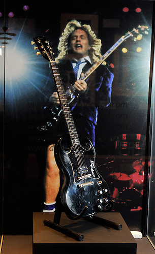 ACDC exhibition at Kelvingrove Art Gallery and Museum - Glasgow - - picture by Donald MacLeod - 16.9.11 - clanmacleod@btinternet.com 07702 319 738 donald-macleod.com