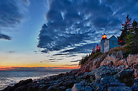 Bass Harbor Lighthouse, Maine, USA