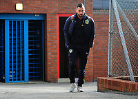 Burnley's Steven Defour arrives at Selhurst Park<br /> <br /> Photographer Ashley Crowden/CameraSport<br /> <br /> The Premier League - Crystal Palace v Burnley - Saturday 13th January 2018 - Selhurst Park - London<br /> <br /> World Copyright &copy; 2018 CameraSport. All rights reserved. 43 Linden Ave. Countesthorpe. Leicester. England. LE8 5PG - Tel: +44 (0) 116 277 4147 - admin@camerasport.com - www.camerasport.com