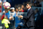 Malaga CF's coach Jose Miguel Gonzalez Michel during La Liga match. February 25,2017. (ALTERPHOTOS/Acero)