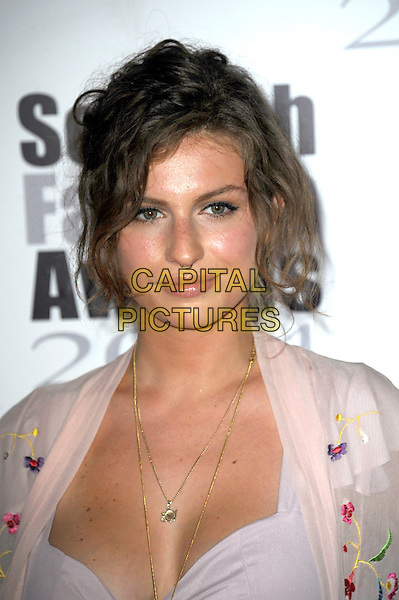 Tali Lennox attends The Scottish Fashion Awards held at 8 Northumberland Avenue, on September 1, 2014 in London, England. <br /> CAP/CJ<br /> &copy;Chris Joseph/Capital Pictures