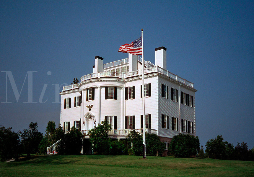General Henry Knox Museum, Thomaston, Maine. Gen. Knox  was America's first Secretary of War and was Commander of Artillery in Geo. Washington's army. Ft. Knox, KY was named for him.