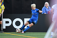 Seattle, WA - Saturday June 24, 2017: Megan Rapinoe during a regular season National Women's Soccer League (NWSL) match between the Seattle Reign FC and FC Kansas City at Memorial Stadium.