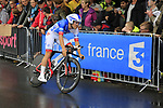 Oliver Le Gac (FRA) FDJ in action during Stage 1, a 14km individual time trial around Dusseldorf, of the 104th edition of the Tour de France 2017, Dusseldorf, Germany. 1st July 2017.<br /> Picture: Eoin Clarke | Cyclefile<br /> <br /> <br /> All photos usage must carry mandatory copyright credit (&copy; Cyclefile | Eoin Clarke)