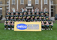 PICTURE BY LONDON BRONCOS - Rugby League - Super League - London Broncos 2013 Photo Day - Honourable Artillery Company Ground, London, England - 11/01/13 - London Broncos 2013 Team Photo.