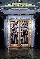 "Los Angeles: Oviatt Building--Doors. 1927-28, Walker & Eisen. Glorious Art Deco! (now 1989, ""Rex-il Ristorante"")"