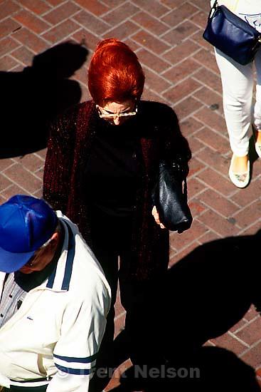 Street scene, fall 1988.  &amp;#xA;<br />