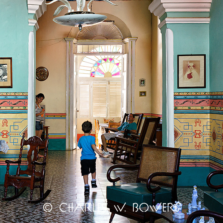 Faces Of Cuba - Family living in Trinidad Cuba<br /> <br /> -Limited Edition of 50 prints.