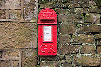Georgian letterbox at Bleasdale, Lancashire.