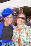 Hats Off: Cathrin O'Rourke from Meath and Siobhan O'Connor from Wexford made the long trip to the Kingdom for Ladies Day at the Listowel Races last Friday.