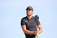 Johan Carlsson (SWE) on the 3rd tee during the 1st round of the 2017 Portugal Masters, Dom Pedro Victoria Golf Course, Vilamoura, Portugal. 21/09/2017<br /> Picture: Fran Caffrey / Golffile<br /> <br /> All photo usage must carry mandatory copyright credit (&copy; Golffile | Fran Caffrey)