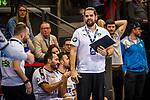 Milos Putera (SC DHfK Leipzig #C2) beim Spiel in der Handball Bundesliga, TVB 1898 Stuttgart - SC DHfK Leipzig.<br /> <br /> Foto © PIX-Sportfotos *** Foto ist honorarpflichtig! *** Auf Anfrage in hoeherer Qualitaet/Aufloesung. Belegexemplar erbeten. Veroeffentlichung ausschliesslich fuer journalistisch-publizistische Zwecke. For editorial use only.