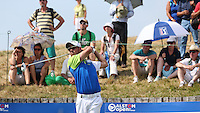 Jaco Van Zyl (RSA) drives down the 17th leading during Round Three of the 2015 Alstom Open de France, played at Le Golf National, Saint-Quentin-En-Yvelines, Paris, France. /04/07/2015/. Picture: Golffile | David Lloyd<br /> <br /> All photos usage must carry mandatory copyright credit (© Golffile | David Lloyd)