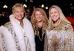 From left: Priscilla Pickett, Jennifer Pickett and Christina Blackwell on the red carpet at Fashion Houston at the Wortham Theater Wednesday Nov.13,2013.  (Dave Rossman photo)