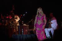 SÃO PAULO - SP. 15.02.2017 - SHOW-SP. Rosemary durante Show de Verão da Mangueira, nesta quarta-feira, 15, no Tom Brasil, zona sul de São Paulo. (Foto: Ciça Neder / Brazil Photo Press)